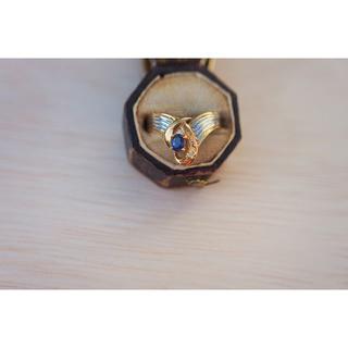カルティエ(Cartier)の【3連休SALE】セミアンティーク プラチナ&18Kコンビネーションリング (リング(指輪))