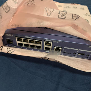 ヤマハ(ヤマハ)のYAMAHA RTX1210新品未通電(PC周辺機器)