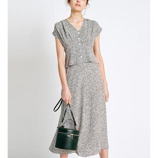 フレイアイディー(FRAY I.D)の新品タグ付き♡アニマルドットプリントスカート(ロングスカート)