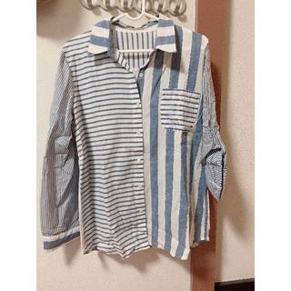 ローズバッド(ROSE BUD)のローズバッド♡コットンシャツ新品♡(シャツ/ブラウス(長袖/七分))
