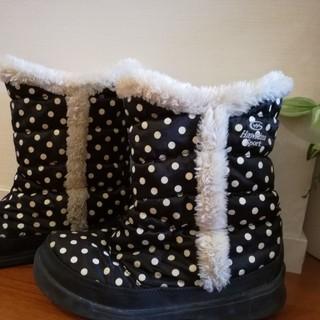 ホーキンス(HAWKINS)のHAWKINS スノーブーツ ホーキンス キッズ 長靴 雪靴 21.5cm 黒(長靴/レインシューズ)