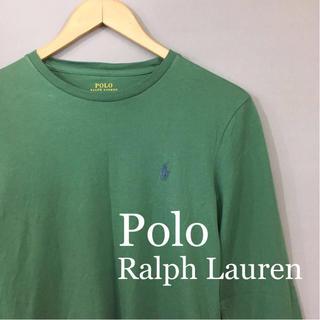 ポロラルフローレン(POLO RALPH LAUREN)のポロラルフローレン ロンT 長袖 丸首 メンズ XSサイズ(Tシャツ/カットソー(七分/長袖))