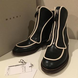 マルニ(Marni)のMARNI マルニ アンクルブーツ 2017 36サイズ(ブーツ)
