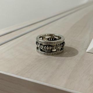 ジャスティンデイビス(Justin Davis)のジャスティンデイビス メディバルウェディングバンドリング 14号 超美品(リング(指輪))