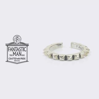 【廃盤】ファンタスティックマン スタッズ リング メンズ シルバー 指輪(リング(指輪))