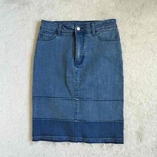 チープマンデー(CHEAP MONDAY)のチープマンデー バイカラースカート(ひざ丈スカート)