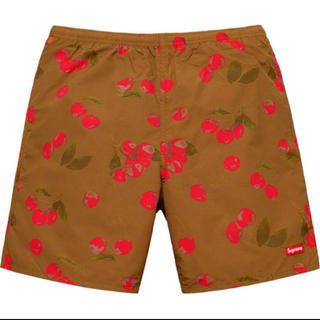 Supreme - supreme Nylon Water Short Brown Cherry L