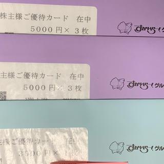 すかいらーく - すかいらーく株主優待 33,000円分