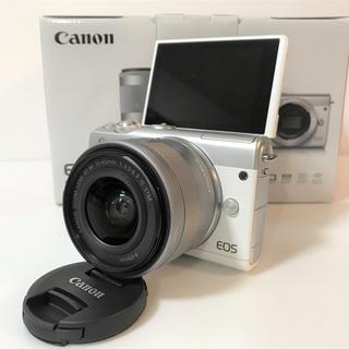 Canon - キャノン カメラ 新品 Canon EOS M100 レンズキット ホワイト