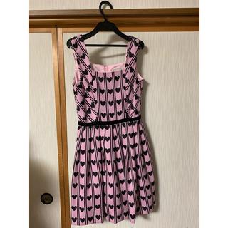 Angelic Pretty - MILK ハートレジメンタル ジャンパースカート