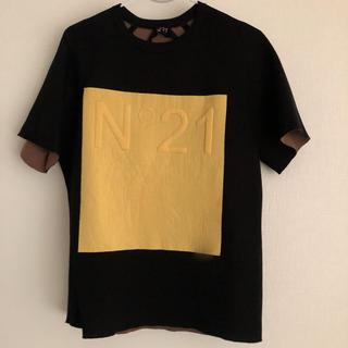 ヌメロヴェントゥーノ(N°21)のボンディング Tシャツ ヌメロヴェントーノ(Tシャツ(半袖/袖なし))