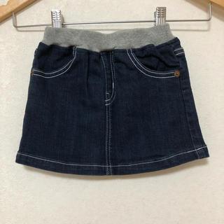 ミキハウス(mikihouse)のミキハウス デニム スカート SS 80 90(スカート)