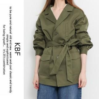 KBF - KBF*ケービーエフ*アーバンリサーチ【美品】ミリタリーシャツジャケット