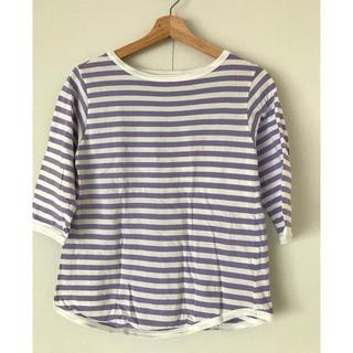 ビームスボーイ(BEAMS BOY)のビームスボーイ  ボーダー Tシャツ ボートネック 七分袖(Tシャツ(長袖/七分))