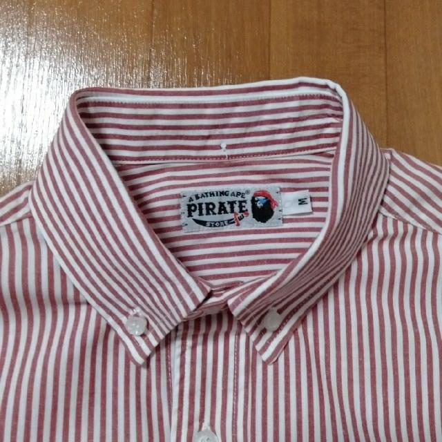 A BATHING APE(アベイシングエイプ)のA BATHING APE アベイシングエイプ  長袖シャツ メンズのトップス(シャツ)の商品写真