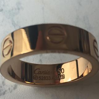 カルティエ ピンクゴールド ラブリング タイプ 19号 指輪 (リング(指輪))