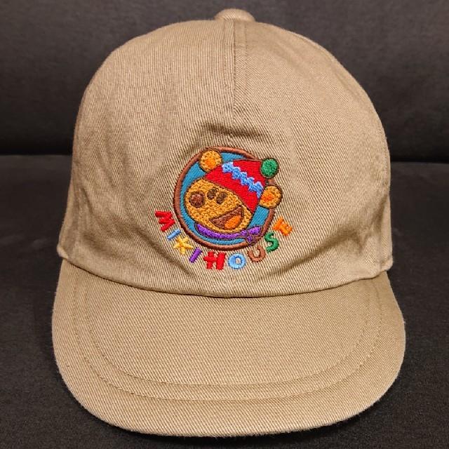 mikihouse(ミキハウス)のMIKI HOUSE  52㎝  帽子 キッズ/ベビー/マタニティのこども用ファッション小物(帽子)の商品写真