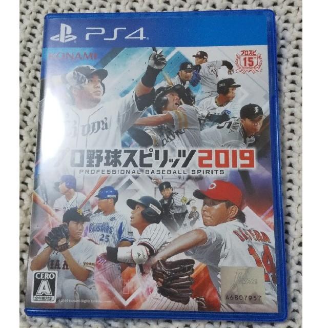 KONAMI(コナミ)のプロスピ2019 プロ野球スピリッツ2019 PS4版 エンタメ/ホビーのゲームソフト/ゲーム機本体(家庭用ゲームソフト)の商品写真