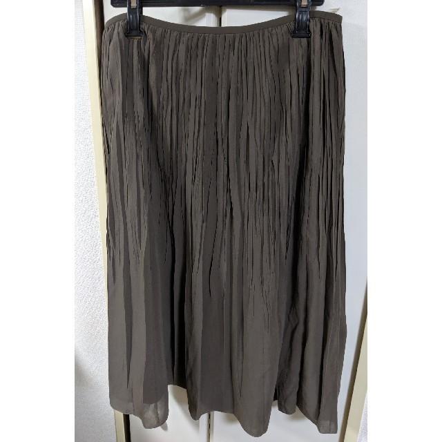 23区(ニジュウサンク)のオンワード 23区 秋色のプリーツスカート レディースのスカート(ひざ丈スカート)の商品写真