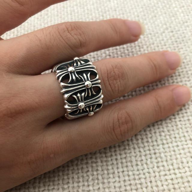 Chrome Hearts(クロムハーツ)のクロムハーツ セメタリークロス リング メンズのアクセサリー(リング(指輪))の商品写真