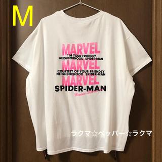 マーベル(MARVEL)のMARVEL スパイダーマン tシャツ M(Tシャツ(半袖/袖なし))