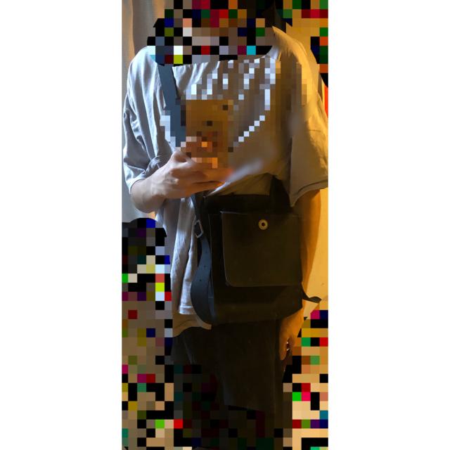 Maison Martin Margiela(マルタンマルジェラ)の【最終値下げ】kiko kostadinov×mackintosh 0004 メンズのバッグ(ショルダーバッグ)の商品写真