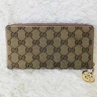 グッチ(Gucci)のGUCCI グッチ  長財布    レディース キャンバス(財布)