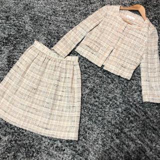 kumikyoku(組曲) - 組曲❤️ノーカラージャケット&スカート❤️セットアップ スーツ