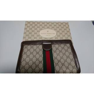 グッチ(Gucci)の美品 グッチ パフューム セカンドバッグ(セカンドバッグ/クラッチバッグ)