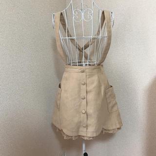 LIZ LISA - 新品未使用 3way LIZLISA 吊りスカート スカートとしても着用可