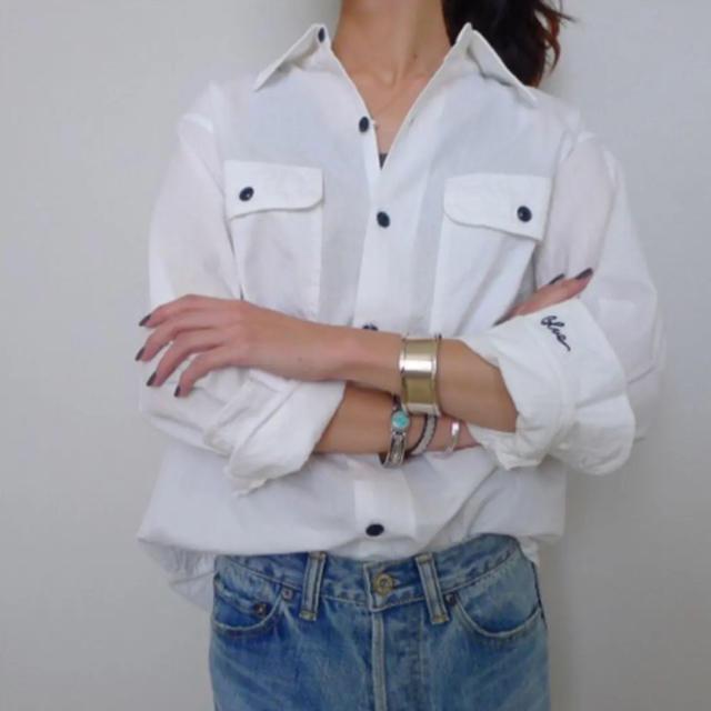 MADISONBLUE(マディソンブルー)のMADISONBLUE HAMPTONシャンブレーシャツ 限定品 レディースのトップス(シャツ/ブラウス(長袖/七分))の商品写真