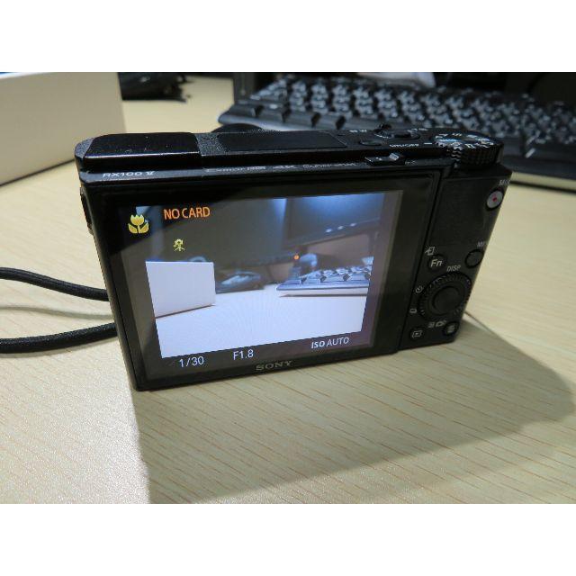 SONY(ソニー)の中古 SONY RX100 V サイバーショット DSC-RX100M5 スマホ/家電/カメラのカメラ(コンパクトデジタルカメラ)の商品写真