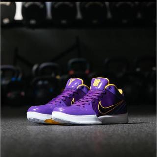 NIKE - UNDEFEATED NIKE KOBE IV PROTRO PE Lakers