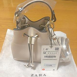 ZARA - MINI バケットバッグ