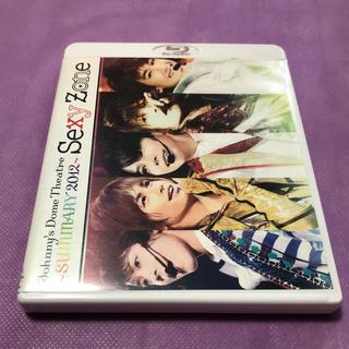 セクシー ゾーン(Sexy Zone)のSexyZone SUMMARY2012【Blu-ray】(アイドル)