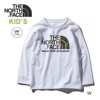 THE NORTH FACE - ザ・ノースフェイス トップス ロングスリーブカモロゴティー キッズ