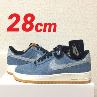 NIKE - 28cm nike by you levis AIR FORCE 1