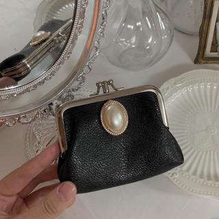 ロキエ(Lochie)の【予約販売】パールボタンミニ財布(財布)