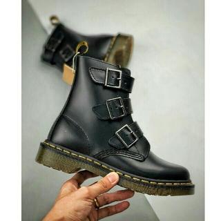 Dr.Martens - 新品   Dr.Martens 革靴    ブーツ UK4  レザーシューズ