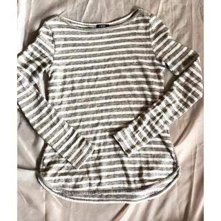 ルシェルブルー(LE CIEL BLEU)のボーダーロンT(Tシャツ(長袖/七分))