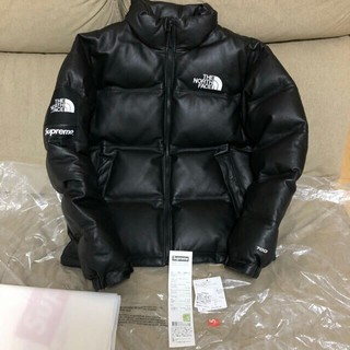 THE NORTH FACE - Supreme The North Face Leather Nuptse M