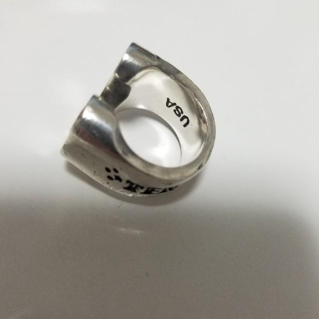 TENDERLOIN(テンダーロイン)のテンダーロインホースシューリング メンズのアクセサリー(リング(指輪))の商品写真
