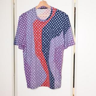 LOUIS VUITTON - ルイヴィトン 11SS L トップス 半袖 Tシャツ スター柄 マルチ 中古