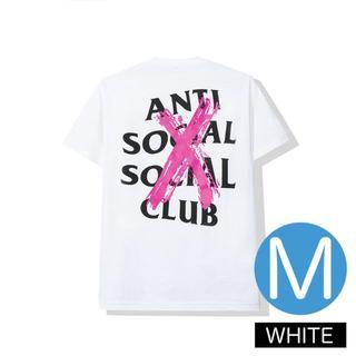 アンチ(ANTI)の2019FW ACCS Cancelled White Tee M(Tシャツ/カットソー(半袖/袖なし))