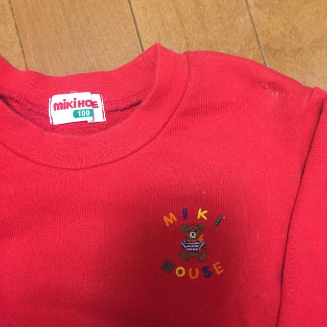 mikihouse(ミキハウス)のミキハウス トレーナー キッズ/ベビー/マタニティのキッズ服 女の子用(90cm~)(Tシャツ/カットソー)の商品写真
