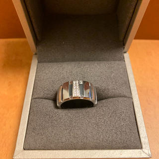 ショーメ(CHAUMET)のショーメ  クラスワン  リング  12pダイヤモンド k18 WG 750 (リング(指輪))