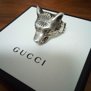 Gucci - gucci ウルフ リング アンガーフォレスト