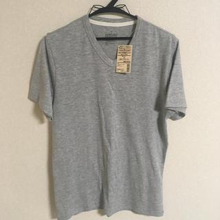 ムジルシリョウヒン(MUJI (無印良品))のおまけ付き 無印良品 Vネック半袖Tシャツ 新品未使用 Sサイズ muji (Tシャツ/カットソー(半袖/袖なし))