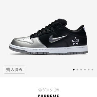 Supreme - 【商品名】 Nike SB Dunk Low Supreme