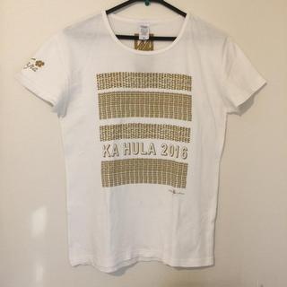 フラ用ティーシャツXL(Tシャツ(半袖/袖なし))